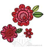 PRE: Framelits Die Set 10PK wStamps - Flowers #6
