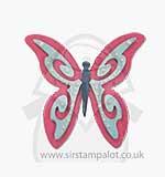 PRE: Pete Hughes Thinlits Die Set 4PK - Butterfly #3