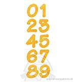 Bigz Alphabet Set 2PK Dies - Lollipop Shadow Numbers