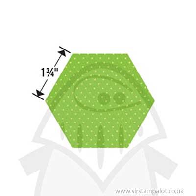 "SO: Bigz Die - Hexagon 1 3/4\"""