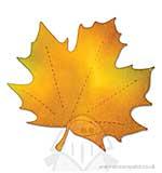 SO: AllStar Bigz Die - Leaf, Maple