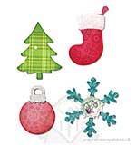 SO: AllStar Bigz Die - Christmas Tree, Ornament and Stocking