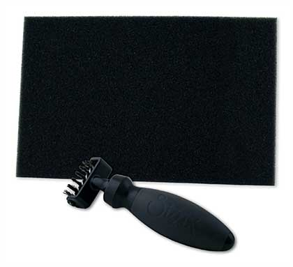 Sizzix Die Cleaning Brush Tool with Foam Mat (for removing confetti from thin dies)