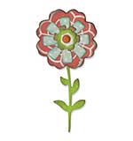 Thinlits Die Set 6PK - Flower Layers and Stem by Eileen Hull