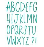 SO: Sizzix Thinlits Dies - Delicate Letters Alphabet Set (28 dies)