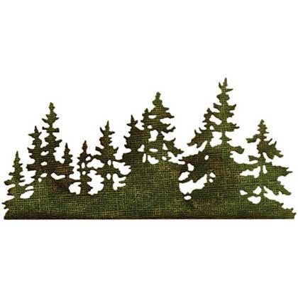 Tree Line - Sizzix Thinlits Die by Tim Holtz