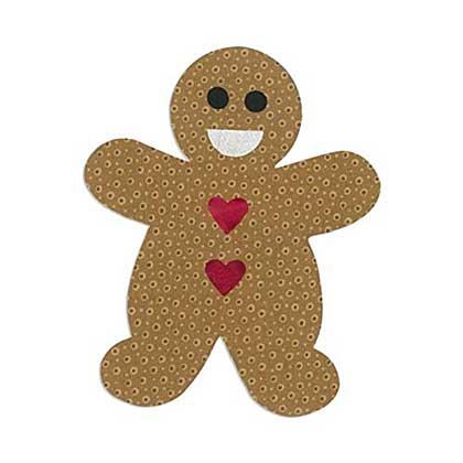 Sizzix Bigz L - Gingerbread Man