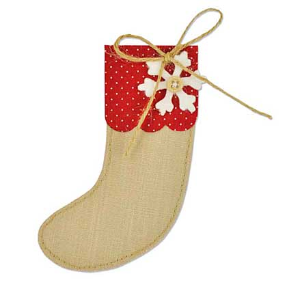 SO: Sizzix Bigz - Christmas Stocking