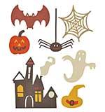 SO: Sizzix Thinlits - Spooky Halloween Set