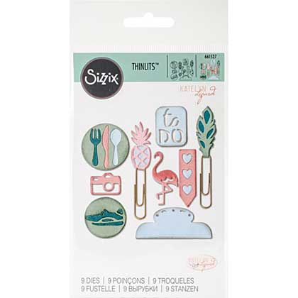 Sizzix Thinlits - Page Planner Icons #2 (9pk)