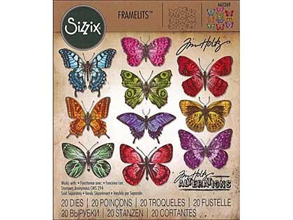 Sizzix Thinlits - Flutter Butterflies (20pk)