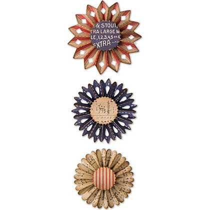 Rosette Set Thinlits by Tim Holtz [TH1802]