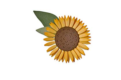 SO: Sizzix Thinlits Die Set - Sunflower 4pk by Sharon Drury