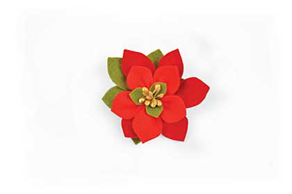 SO: Sizzix Bigz Die - Build A Bloom Poinsettia by Pete Hughes