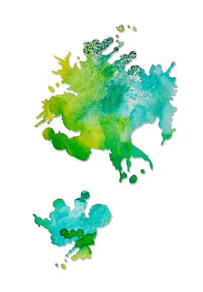 SO: Sizzix Thinlits Die Set - Paint Splats 2pk by Pete Hughes