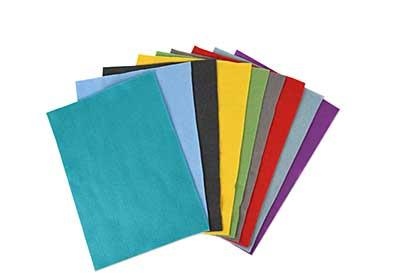 SO: Sizzix Felt, Bold Colours (10 pk, A4)