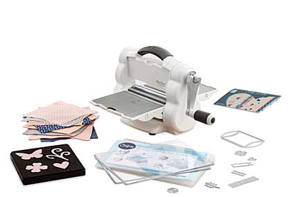 Sizzix Foldaway Starter Set - Die Cutting Machine