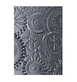 Sizzix 3D Texture Fades - Mechanics and Cogs Embossing Folder by Tim Holtz
