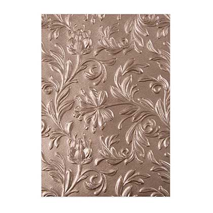 SO: Sizzix 3D Texture Fades - Botanical Leaves Embossing Folder by Tim Holtz