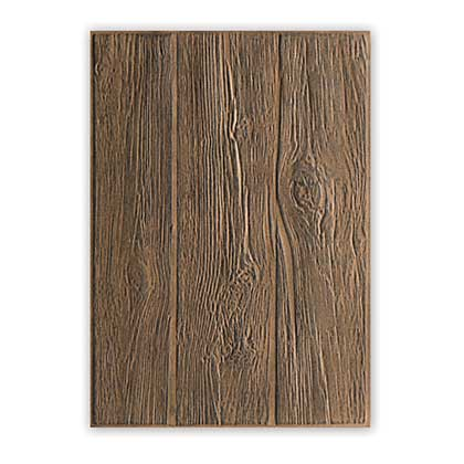 SO: Sizzix 3D Texture Fades - Lumber Woodgrain Embossing Folder by Tim Holtz