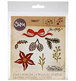 SO: Sizzix Thinlits Dies - Festive Greens by Tim Holtz (9 dies)