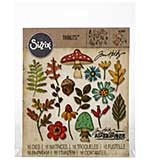 Sizzix Thinlits Dies - Funky Foliage by Tim Holtz (16 dies)