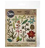 SO: Sizzix Thinlits Dies - Funky Festive by Tim Holtz (16 dies)
