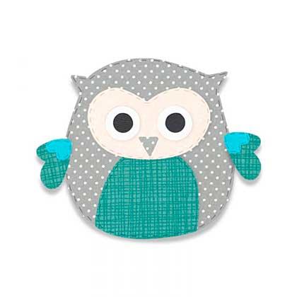Sizzix Bigz Die - Owl #8 by Debi Potter