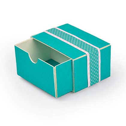 Sizzix ScoreBoards XL Die - Box, Stacking Drawer by Eileen Hull