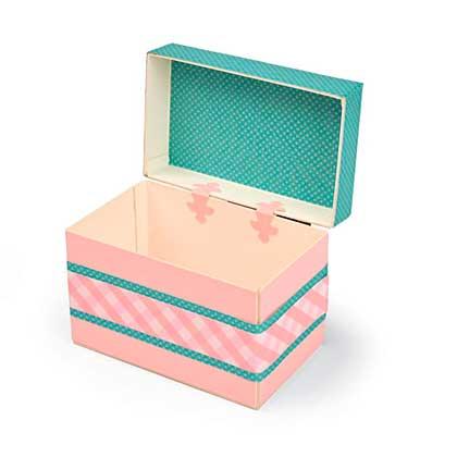 Sizzix ScoreBoards XL Die - Box, Treasure by Eileen Hull