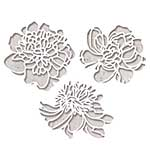 Sizzix Thinlits Die Set - Cutout Blossoms by Tim Holtz (3pk)