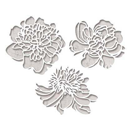 SO: Sizzix Thinlits Die Set - Cutout Blossoms by Tim Holtz (3pk)