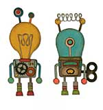 Sizzix Thinlits Die Set - Robotic by Tim Holtz (14pk)