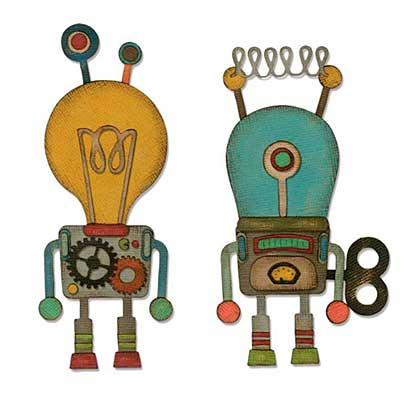 Sizzix Thinlits Die Set - Robotic by Tim Holtz (14pk)