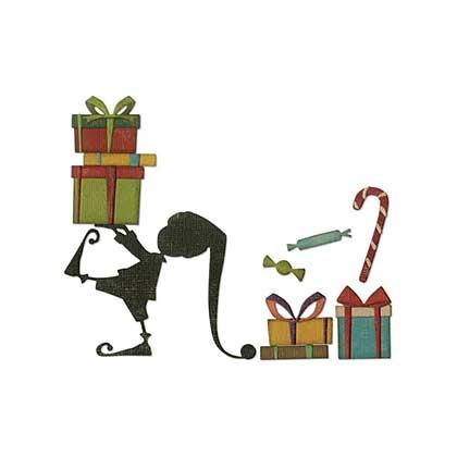 SO: Sizzix Thinlits - Santas Little Helper Dies By Tim Holtz