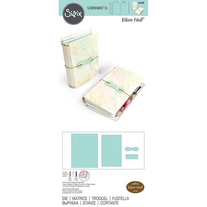 Sizzix ScoreBoards XL Die - Pocket Notebook by Eileen Hull