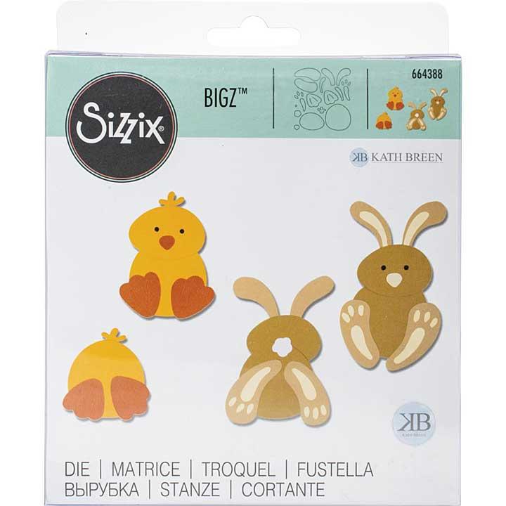 Sizzix Bigz Die - Spring Friends by Kath Breen