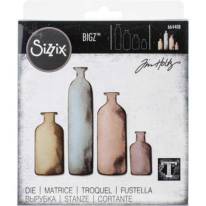 Sizzix Bigz Die - Bottled Up by Tim Holtz