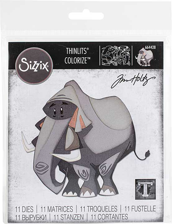 Sizzix Thinlits Dies By Tim Holtz - Clarence, Colorize