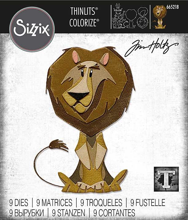 Sizzix Thinlits Dies By Tim Holtz 9pk - Harrison Colorize