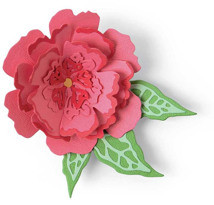 Sizzix Thinlits Dies By Jessica Scott 10pk - Pop-Up Flower