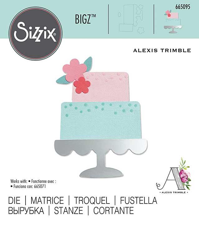Sizzix Bigz Die By Alexis Trimble - Celebration Cake