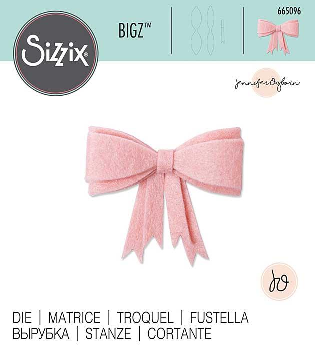 Sizzix Bigz Die By Jennifer Ogborn - 3D Bow