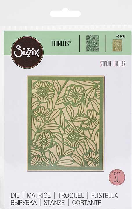 Sizzix Thinlits Die By Sophie Guilar - Minimal Foliage