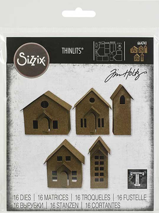 Sizzix Thinlits Dies By Tim Holtz 16pk - Paper Village