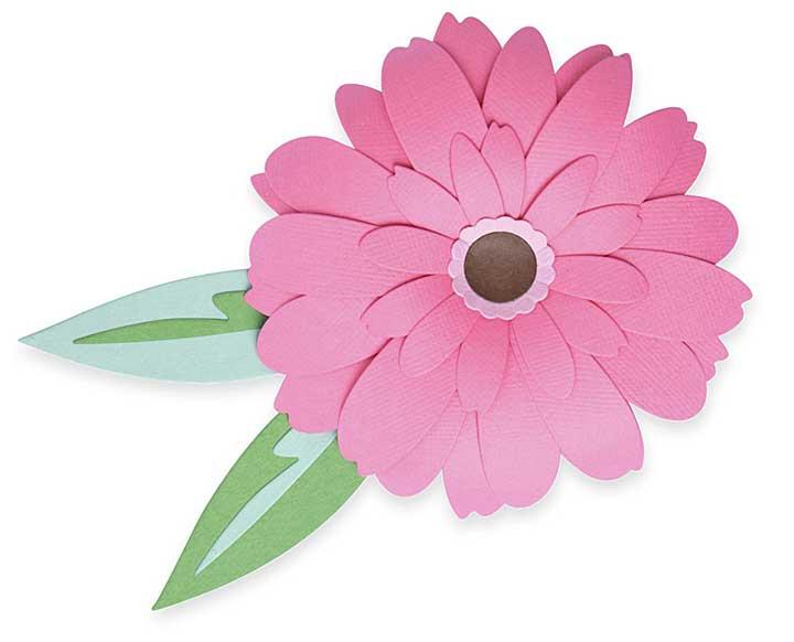 Sizzix Thinlits Dies By Olivia Rose 8pk - Gerbera Flower