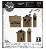 Sizzix Thinlits Dies By Tim Holtz 21pk - Paper Village #2