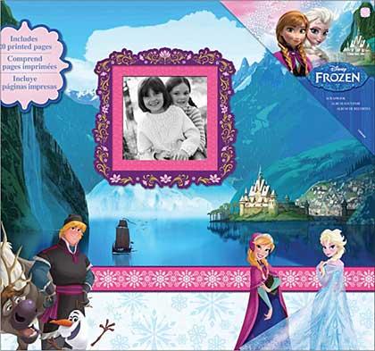 SO: Disneys Frozen Post Bound Scrapbook Album Starter Set, 12x12