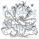 SO: Mo Manning Clear Stamp - Baby fairy flora