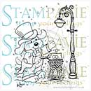 SO: Laurence - Clear Stamp - A Victorian Winter